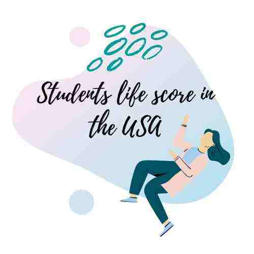student life score in the US